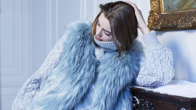 Be Warm in Blue: Para a Molly Bracken o inverno é azul