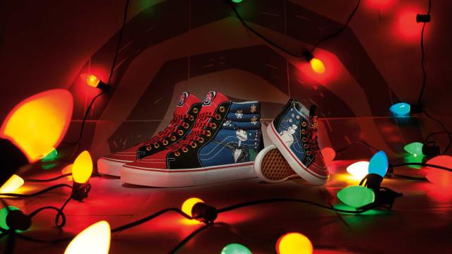Vans celebra Natal com Sk8-Hi inspirados no 'Estranho Mundo de Jack'