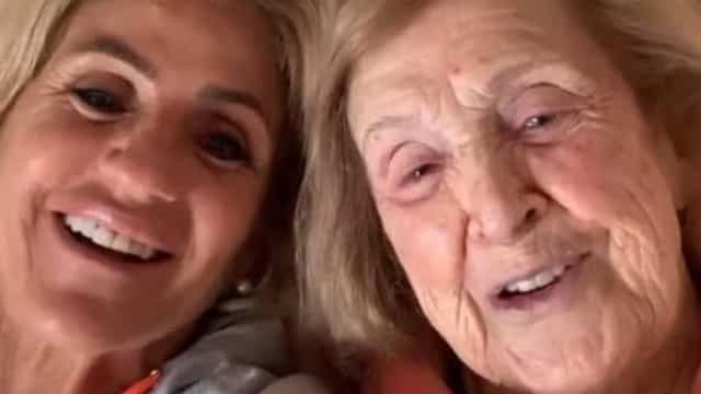 """Bibá Pitta celebra 99.º aniversário da avó. """"Vamos continuar a cantar"""""""