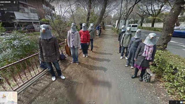 Google Maps. Veja as imagens mais estranhas captadas pelo serviço