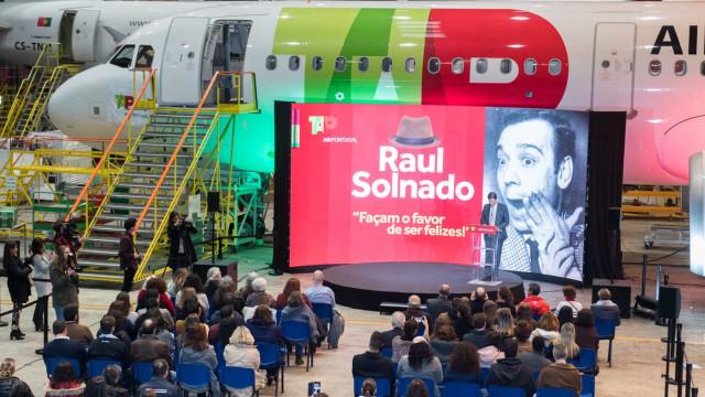 Raul Solnado tem agora um avião com o seu nome na TAP