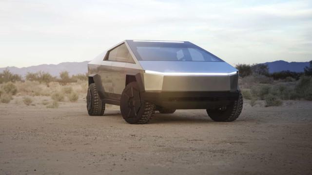 Design do novo Tesla Cybertruck foi motivo de piada na Internet