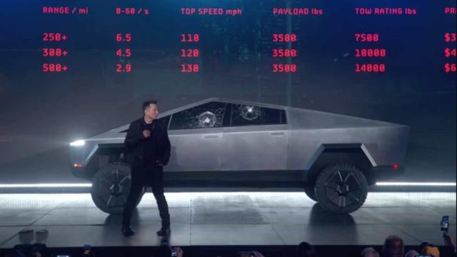 """Tesla. Veja a demonstração (infeliz) do """"vidro fortalecido"""" do Cybertruck"""