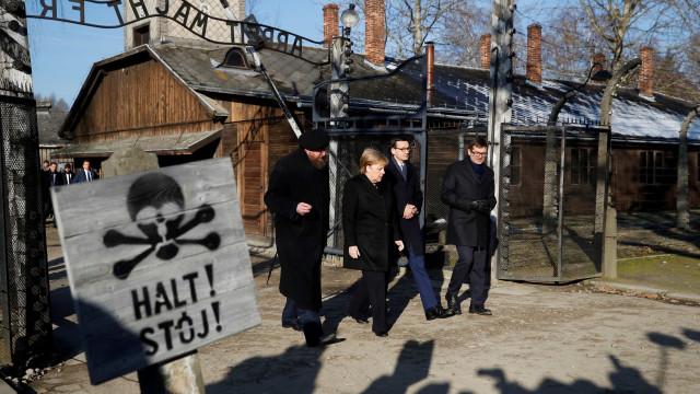 """Memória dos crimes nazis são """"inseparáveis da identidade alemã"""""""
