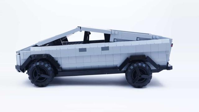 Era uma questão de tempo. Tesla Cybertruck criado com peças Lego