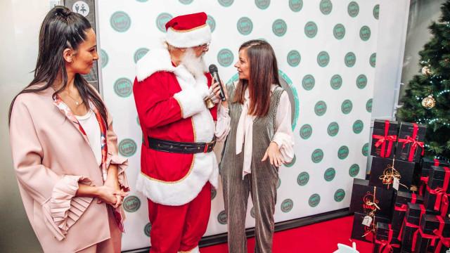 Famosos não faltaram à Festa de Natal 100% Bebé