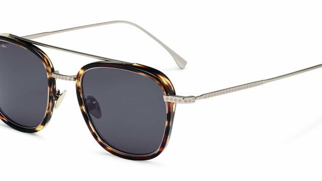 Lacoste lança novos modelos de óculos da coleção Novak Djokovic