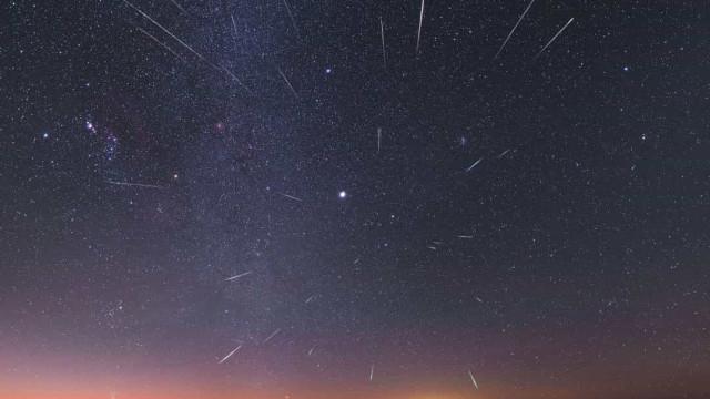 NASA dá-lhe um 'aperitivo' para a chuva de meteoros deste fim de semana
