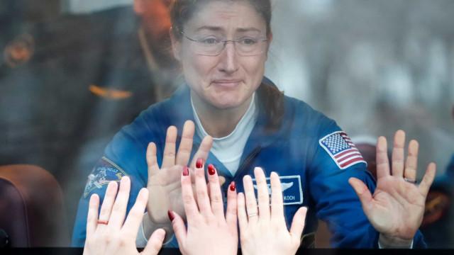 Reuters partilhou as melhores fotografias do Espaço de 2019