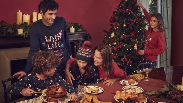 Pijamas em xadrez e detalhes natalícios. Assim é o Natal da Women'Secret