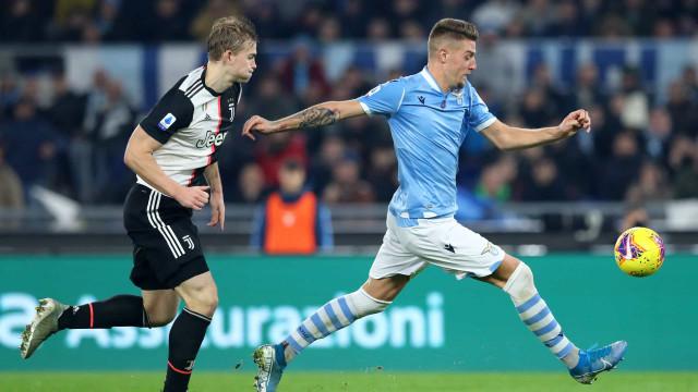 Casa de Milinkovic-Savic foi assaltada durante o Lazio-Juventus