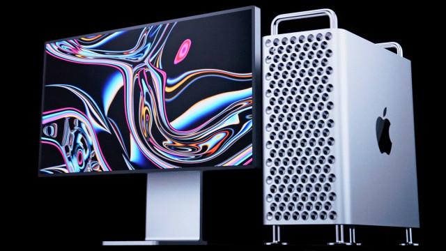 As rodas do Mac Pro custam 480 euros