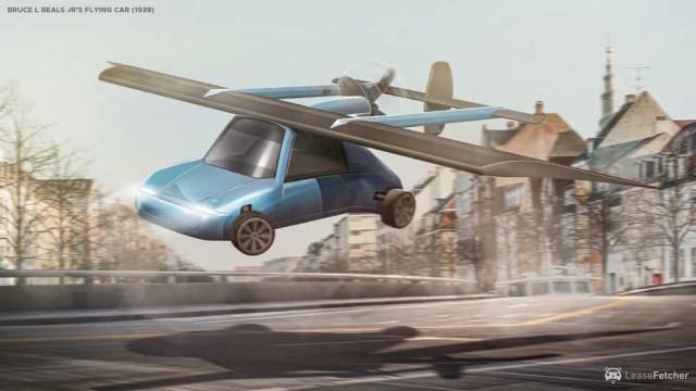 Estúdio criativo inspirou-se em patentes para criar carros voadores