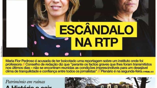 Hoje é notícia: Assédio sexual em lar de idosos; Escândalo na RTP
