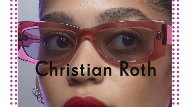 Óculos icónicos: Eis a nova coleção Christian Roth