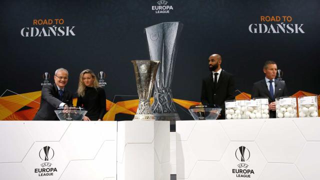 Equipas portuguesas já conhecem adversários nos '16-avos' da Liga Europa