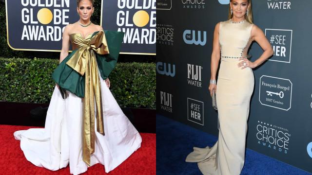Look da Semana: Jennifer Lopez destaca-se com escolhas (muito) diferentes