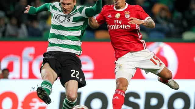 Sporting-Benfica: As imagens do dérbi eterno que não passaram na TV