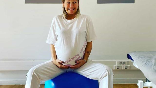 Paula Lobo Antunes celebra 44 anos dias após ser mãe pela segunda vez