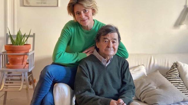 Leonor Poeiras partilha momento inédito com a família e felicita o pai