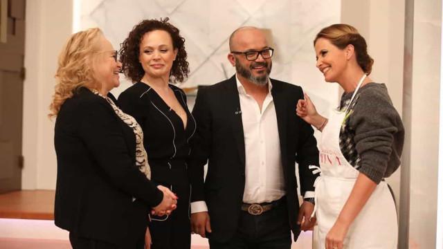 Fernando Rocha surpreendido com visita da mãe e da irmã