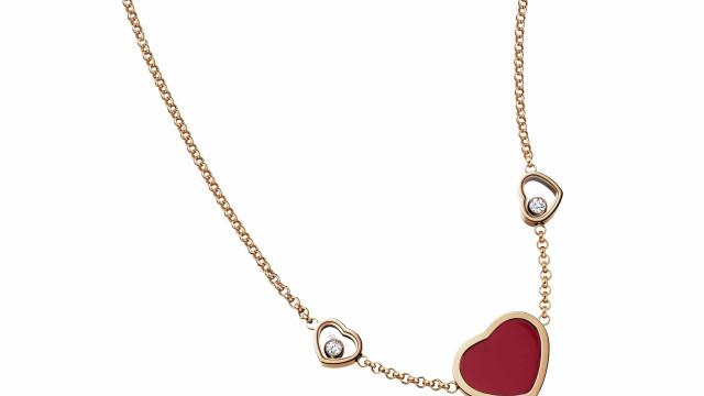 """São Valentim: Propostas Chopard, """"mensageira das mais belas declarações"""""""