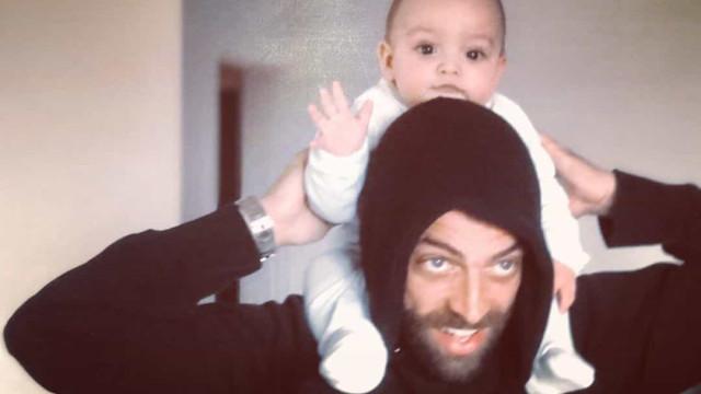 Diogo Amaral volta a 'derreter' seguidores com novas imagens de Oliver