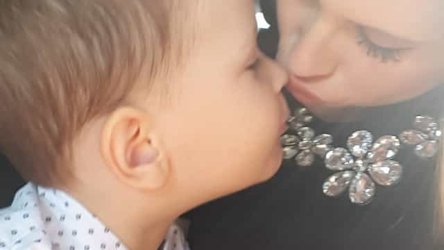 Filho de Bernardina Brito e Tiago Ginga completa cinco anos