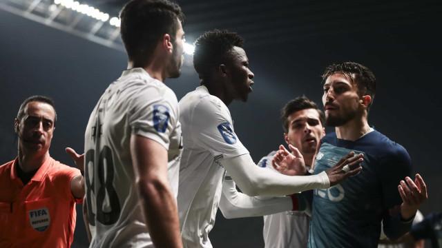 Vitória SC-FC Porto: Estas são as imagens que não viu na televisão