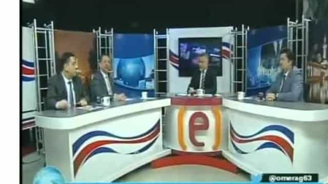 Programa de TV em direto na Turquia é interrompido devido ao sismo