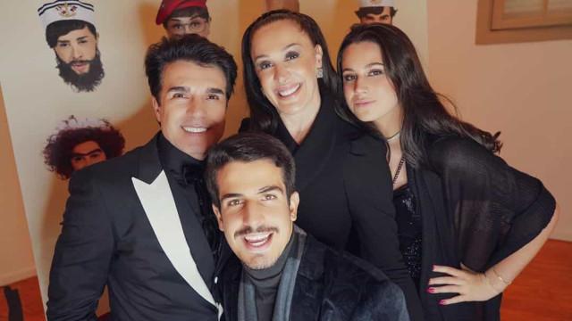 Filhos de Cláudia Raia também estão em Portugal