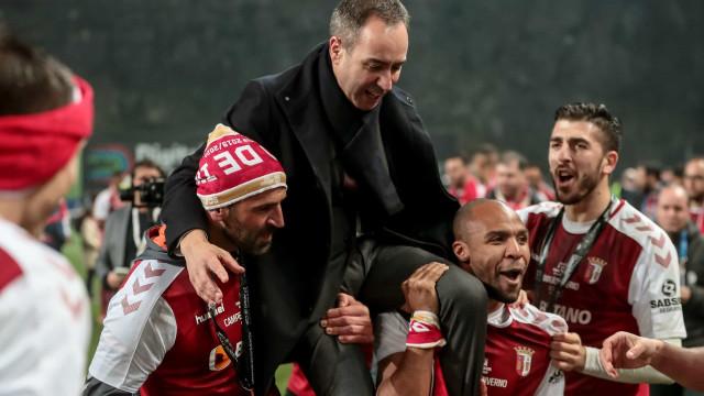 As melhores imagens do Sp. Braga-FC Porto que não viu na televisão