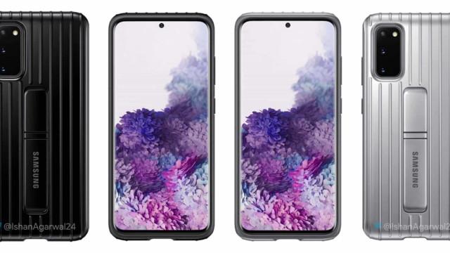 Samsung. Surgiram imagens das capas dos novos topos de gama