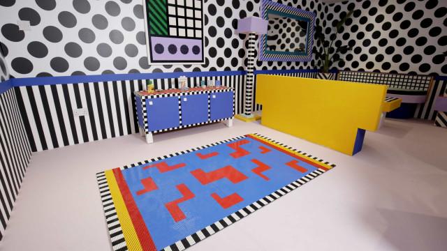 LEGO junta-se a Camille Walala para instalação única