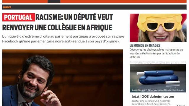 Imprensa internacional noticia declarações de Ventura sobre Joacine