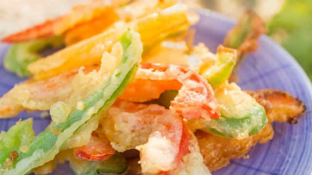 As verduras fritas 'contam' como vegetais?