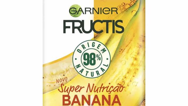 Fructis Hair Food convida-a a alimentar o seu cabelo com banana