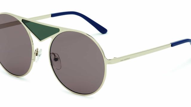 Nova coleção de óculos Karl Lagerfeld é uma ode à estética Bauhaus