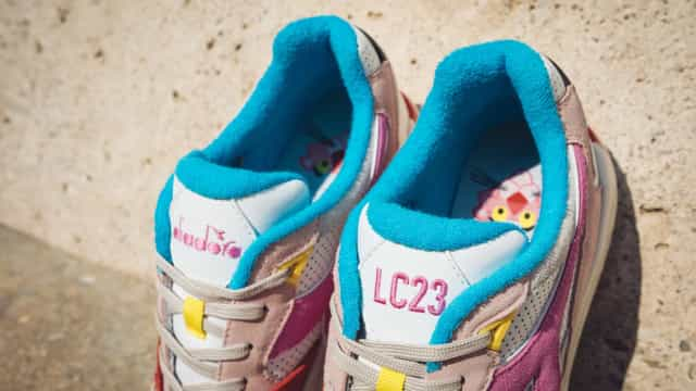 Diadora e LC23 lançam edição limitada inspirada na pantera cor de rosa