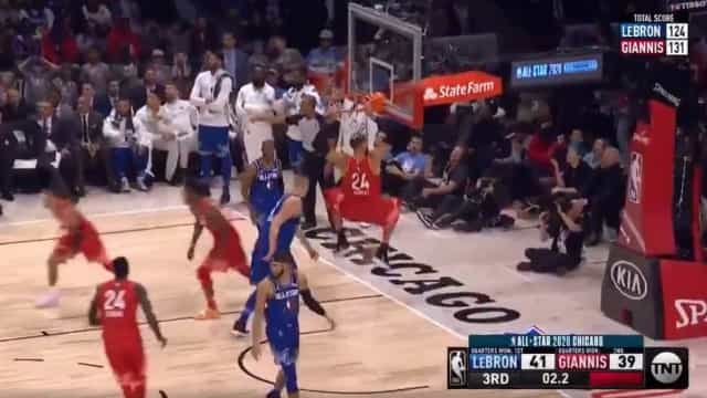 All-Star Game da NBA acabou 'a ferver'. Eis os melhores momentos
