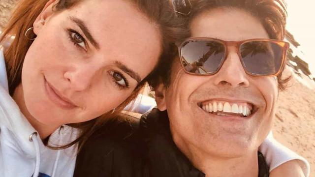 Leonor Seixas viaja para Madrid com o ator Reynaldo Gianecchin