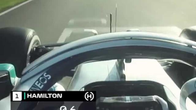 F1: Hamilton fez assim a volta mais rápida no 1.º dia em Barcelona