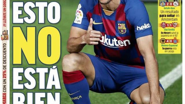 Lá fora: O reforço do Barça, o show de Eriksen e o super Wolves