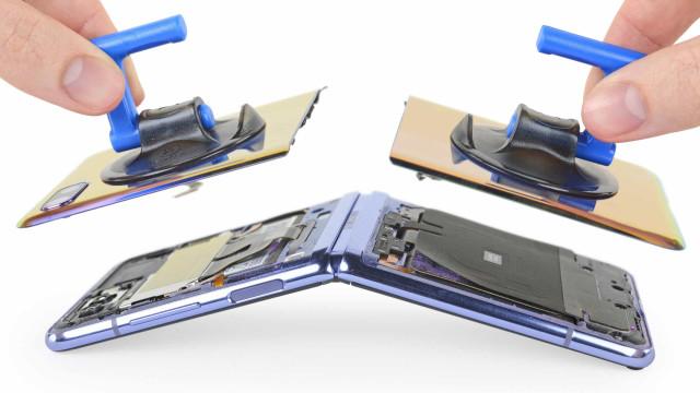 Galaxy Z Flip. Veja como é o interior do novo smartphone dobrável