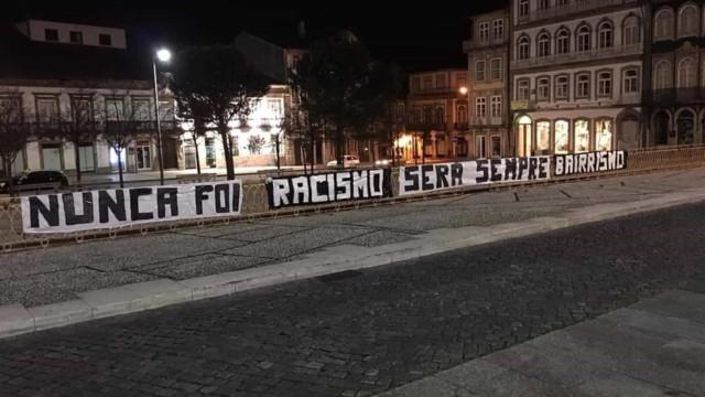 "Guimarães manifesta-se: ""Nunca foi racismo, será sempre bairrismo"""