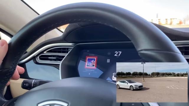 Vídeo: Investigadores 'enganaram' carro da Tesla com fita adesiva