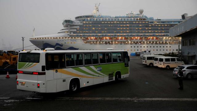 Português infetado com coronavírus no Japão. Está a bordo de navio