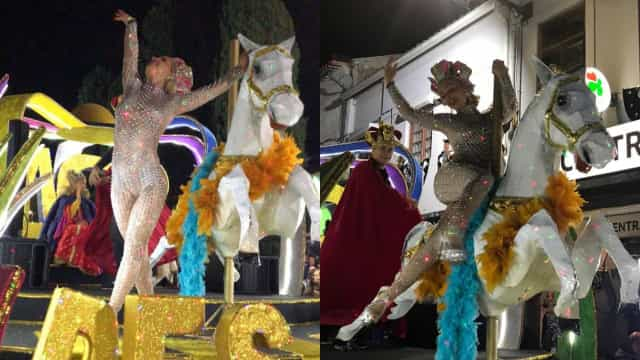 Luciana Abreu 'arrasa' no segundo desfile de Carnaval