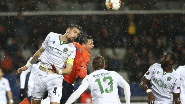 Basaksehir 'arruma' com o Sporting da Liga Europa no prolongamento