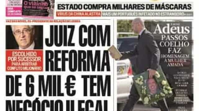 Hoje é notícia: Juiz tem negócio ilegal; Burla de 2 milhões no Placard